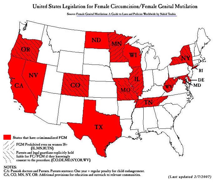 FGM Map - 2007 - U.S.A.