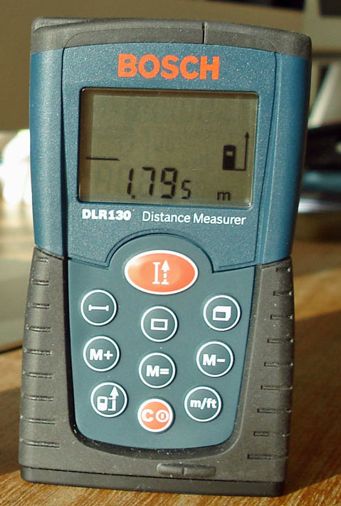 Com Bosch Didtance Measurer What S Right And Wrong With It A Review Of The Bosch Dlr130 Glr225